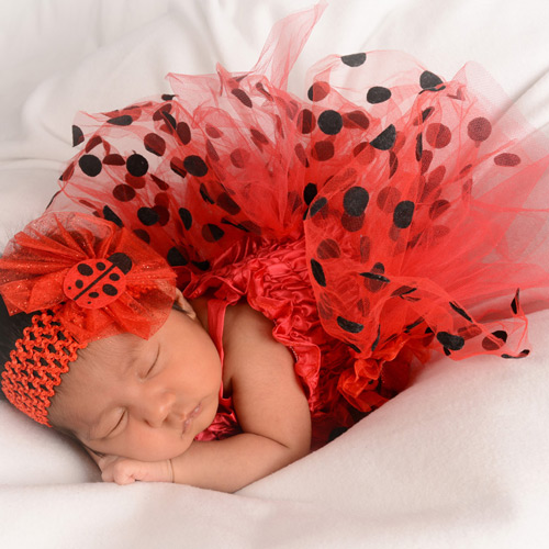 Andrae Michaels National Portrait Studio provides in-studio newborn photography