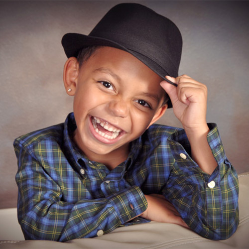 Andrae Michaels National Portrait Studio child model